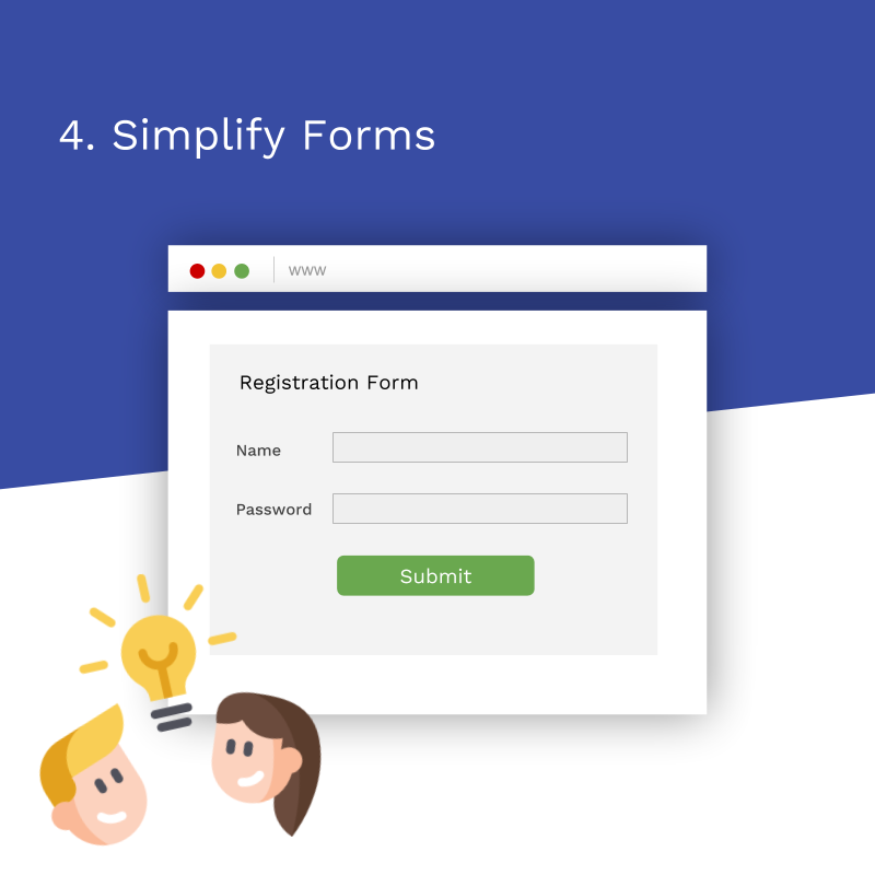 7 Tips Redesign Website_simplify forms
