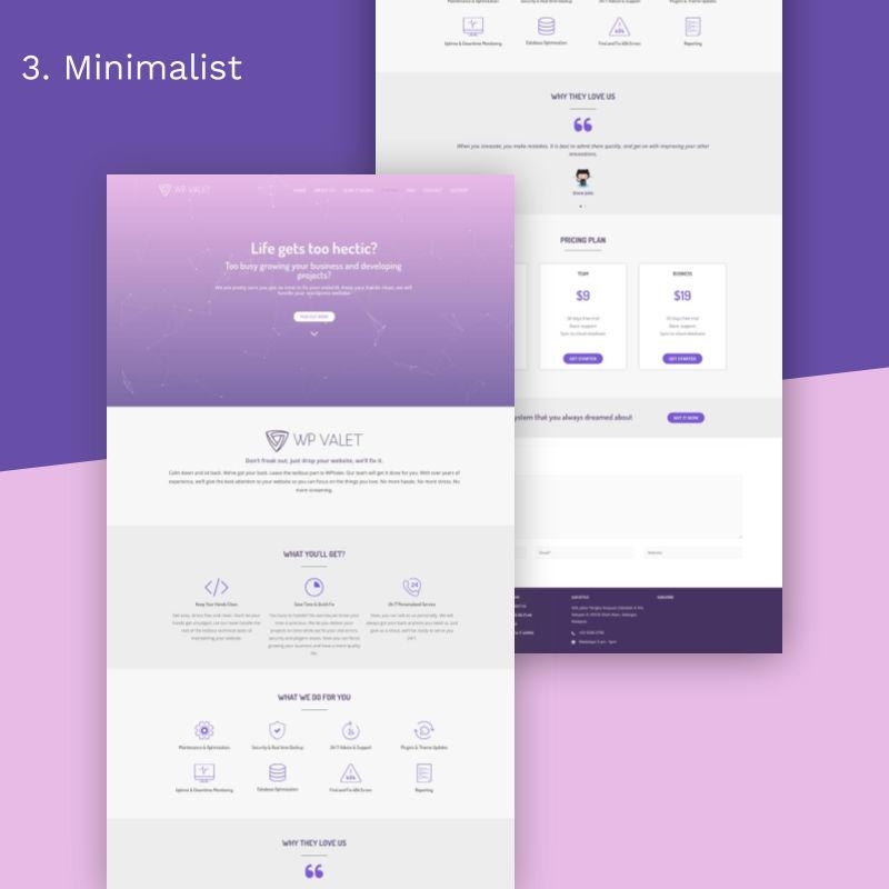 7 Website Super Gorgeous_minimalist