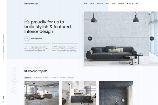 Web Design For Architect 8