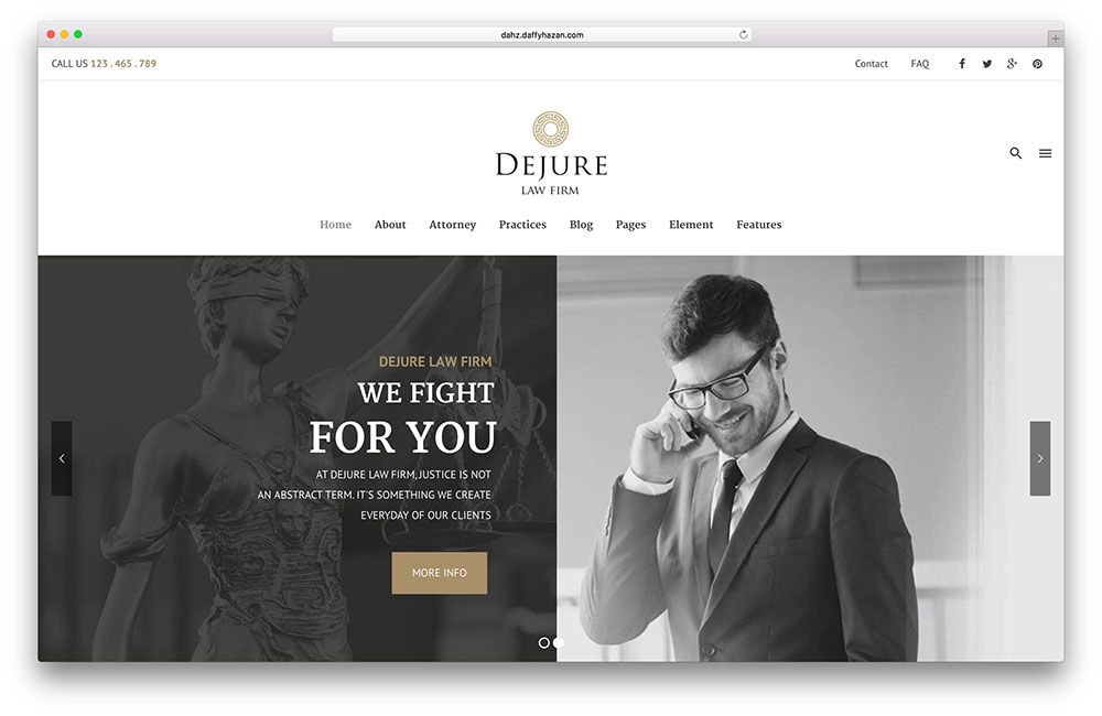 web design for lawyers_template1