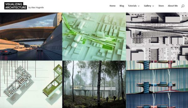 element in web design for architects_portfolio