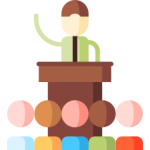 increase traffic b2b website - speaker