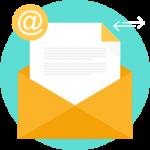 increase traffic b2b website - email website