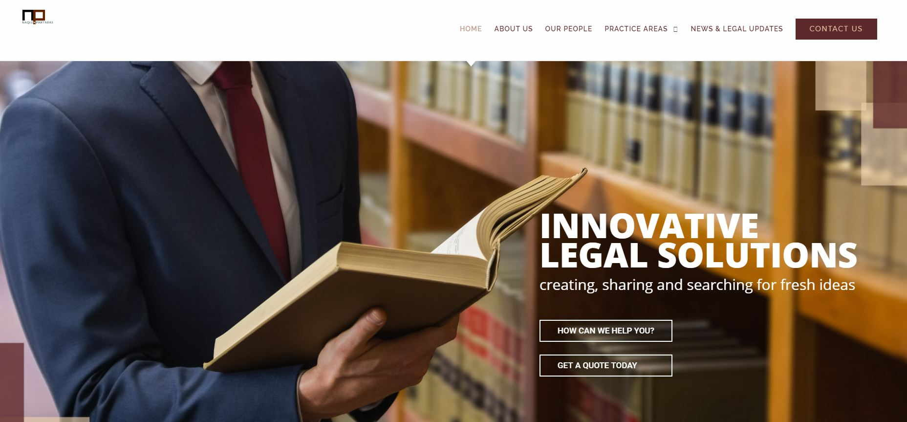web design for lawyers_naqiz PARTNERS